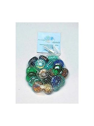 Picture of Decorative colored stones (Available in a pack of 18)