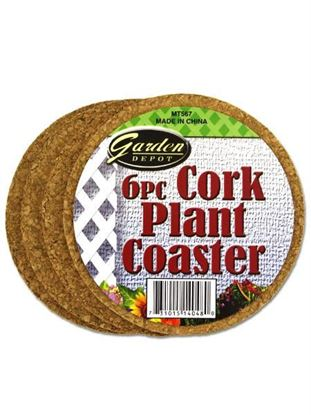 Picture of 6 Pack cork planter coaster (Available in a pack of 24)