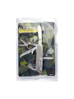 Picture of 13 Function pocket tool knife (Available in a pack of 24)