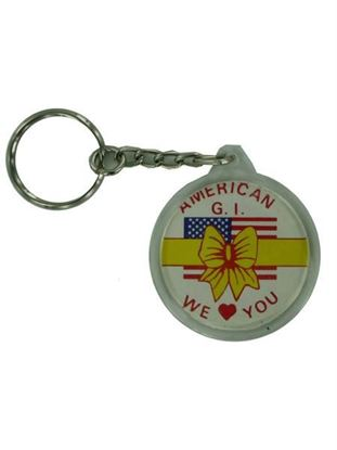 Picture of American G.I. keychain (Available in a pack of 24)