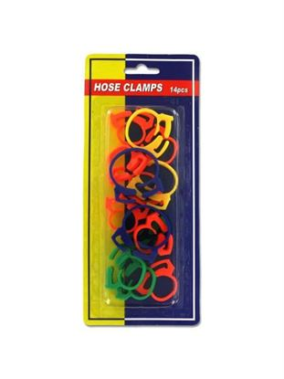 Picture of Plastic hose clamps, pack of 14 (Available in a pack of 24)