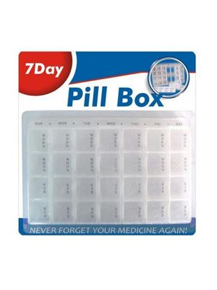 Picture of 7-day pill box (Available in a pack of 12)
