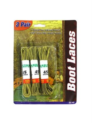 Picture of 3 Pair boot laces (Available in a pack of 24)