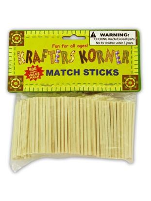 Picture of Crafting wood match sticks (Available in a pack of 25)