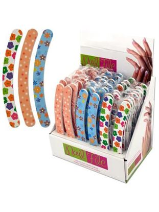 Picture of Curved nail file display (Available in a pack of 24)