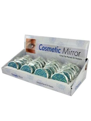 Picture of Glittering compact mirror display (Available in a pack of 24)
