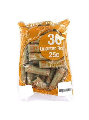 Picture of 36 Pack quarter coin wrappers (Available in a pack of 20)
