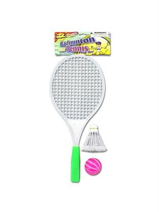 Picture of Badminton play set (Available in a pack of 24)