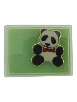 Picture of Panda bear fashion pin (Available in a pack of 24)