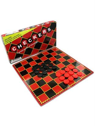Picture of Checkers game (Available in a pack of 24)