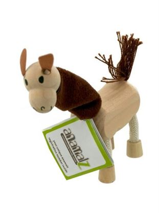 Picture of 5pk wooden lamas 14096 (Available in a pack of 1)