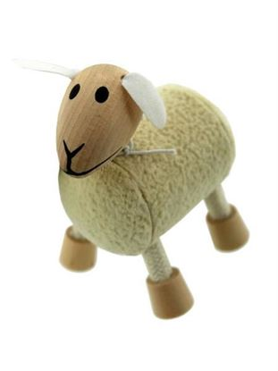 Picture of 5pk wooden sheep 14095 (Available in a pack of 1)