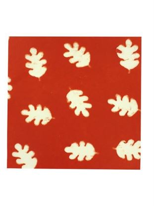 Picture of Oak leaves watermark paper, pack of 6 pages (Available in a pack of 24)