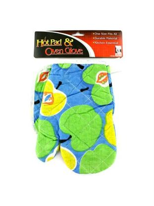 Picture of Hot pad and oven glove set (Available in a pack of 24)