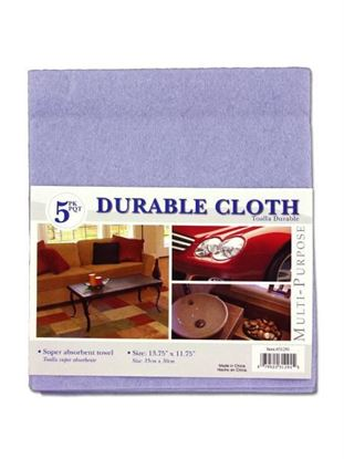 Picture of Cleaning cloths, pack of 5 (Available in a pack of 24)
