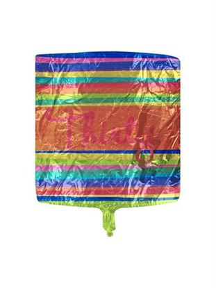 Picture of Large 'thirty' mylar birthday balloon (Available in a pack of 24)