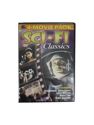 Picture of Sci-Fi classics 4-movie DVD (Available in a pack of 30)