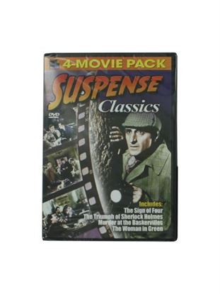 Picture of Suspense classics 4-movie DVD (Available in a pack of 15)