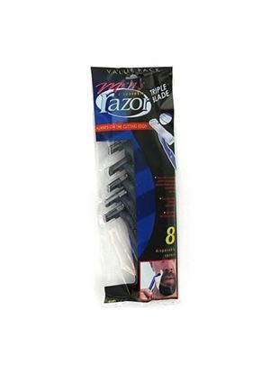 Picture of Men's triple blade disposable razors (Available in a pack of 25)