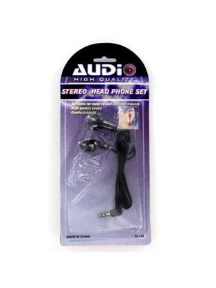 Picture of Stereo headphone set (Available in a pack of 25)