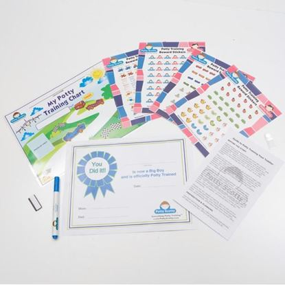 Picture of Potty Training Chart & Reward Sticker by Potty Scotty¿