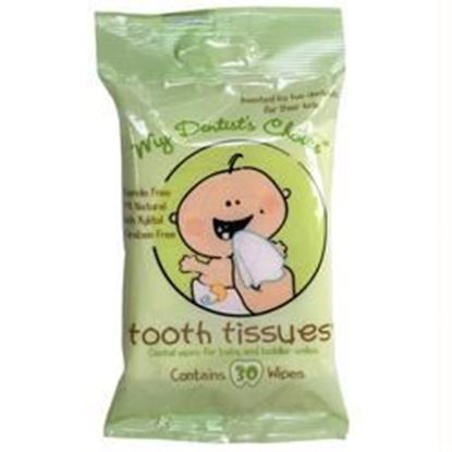 Picture of Tooth Tissues - Dental Wipes for Baby & Toddlers - Single Pack