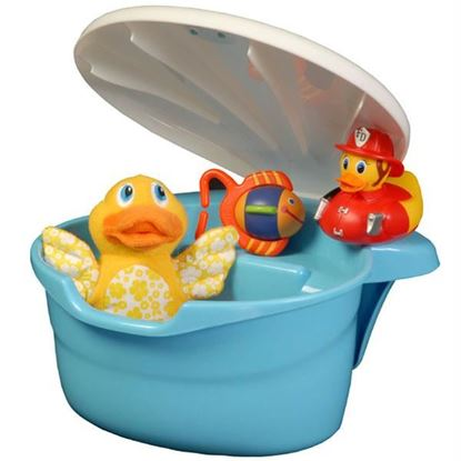Picture of Blue Tub Toy Organizer