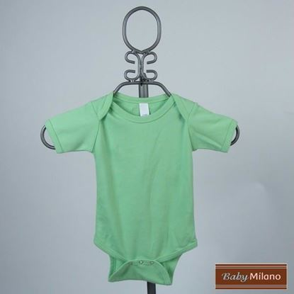 Picture of Lime Baby Onesie - Short Sleeve by Baby Milano
