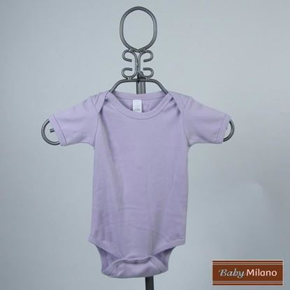 Picture of Lavender Baby Onesie - Short Sleeve by Baby Milano