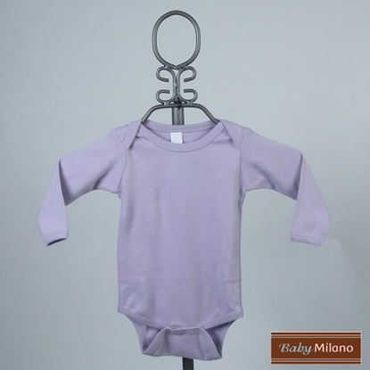 Picture of Lavender Baby  Onesie - Long Sleeve by Baby Milano