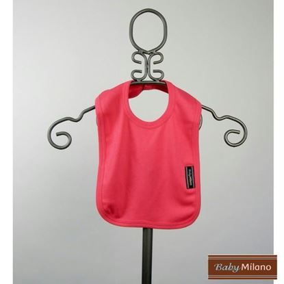 Picture of Fuchsia Baby Bib by Baby Milano