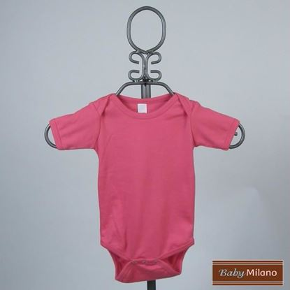Picture of Fuchsia Baby Onesie - Short Sleeve by Baby Milano