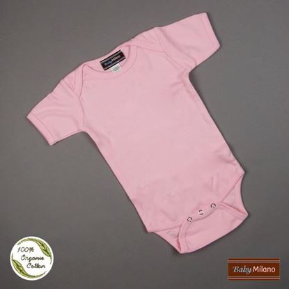 Picture of Organic Baby Onesie - Pink