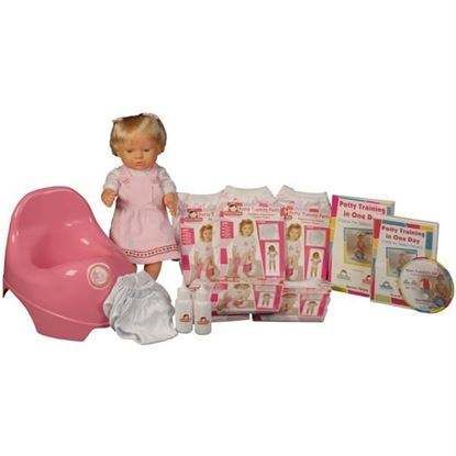 Picture of Potty Training in One Day¿ - The Advanced System for Girls w/DVD