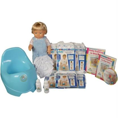 Picture of Potty Training in One Day¿ - The Advanced System for Boys w/DVD