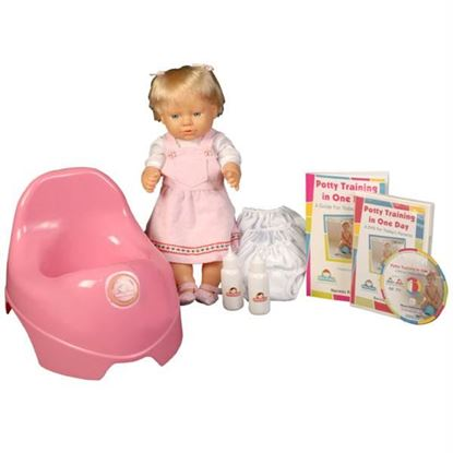 Picture of Potty Training in One Day¿ - The Basic System for Girls w/DVD