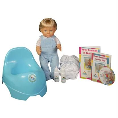 Picture of Potty Training in One Day¿ - The Basic System for Boys w/DVD