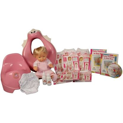 Picture of Potty Training in One Day¿ - The Complete System for Girls w/DVD