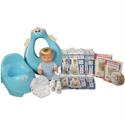Picture of Potty Training in One Day¿ - The Complete System for Boys w/DVD