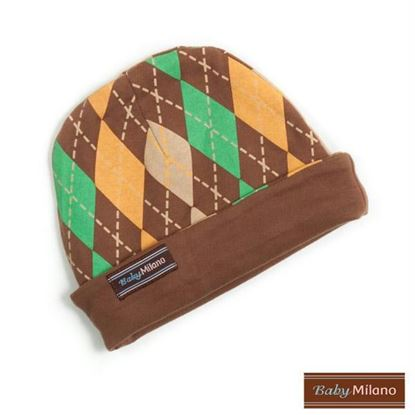 Picture of Argyle Hat - Brown