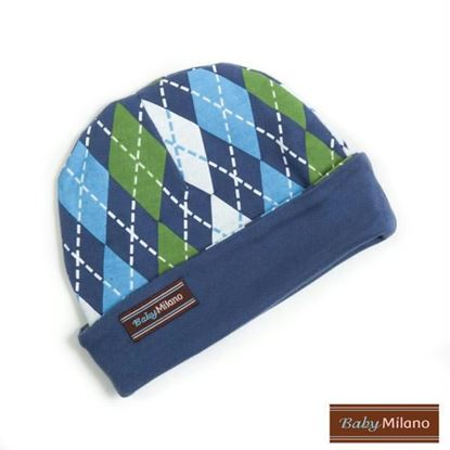 Picture of Argyle Hat - Blue