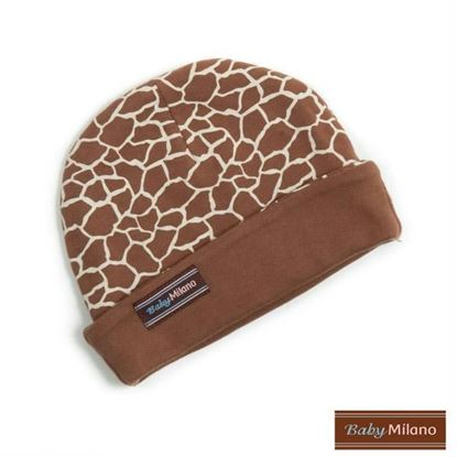 Picture of Giraffe Print - Baby Beanie Hat