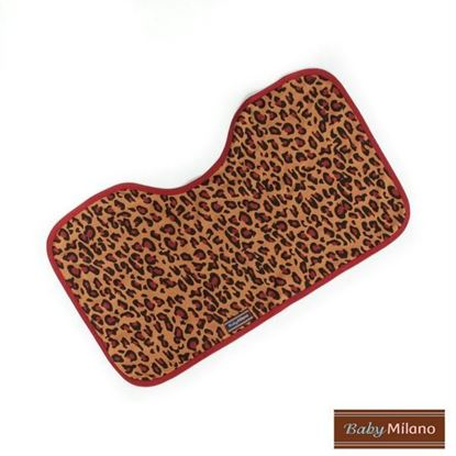Picture of Baby Burp Cloth - Leopard Print