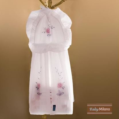 Picture of Baby Diaper Stacker - Rose Design by Baby Milano