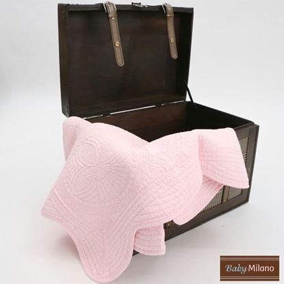 Picture of Baby Quilt - Pink by Baby Milano