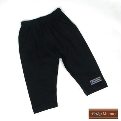 Picture of Black Baby Pants by Baby Milano