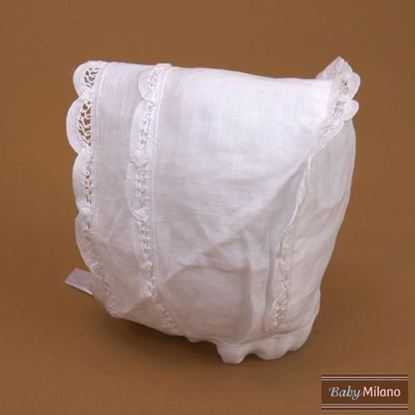 Picture of Christening Bonnet - Baby Baptism Gift