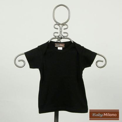 Picture of Black Baby Shirt by Baby Milano