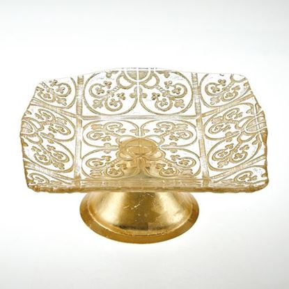 """Picture of FTD GOLD 8"""" PLATTER GUINNEVER"""