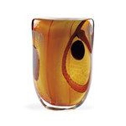 "Picture of ART GLASS 11""OVAL VASE"